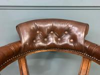 Victorian Revolving Desk Chair by Jas Shoolbred & Co (7 of 10)