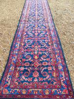 Antique Malayer Runner Carpet (3 of 7)