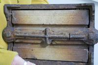 Heavy Cast Iron & Brick Boot Scraper (6 of 7)