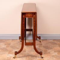 Inlaid Mahogany Edwardian Sutherland Table (4 of 19)