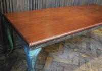 Antique French iron coffee table (2 of 6)