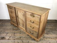 Victorian Antique Pine Sideboard with Drawers (7 of 13)