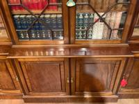 Late Victorian Mahogany 4 Door Library Bookcase (10 of 13)