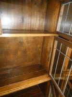 Pair of Oak 1920s Bookcases (11 of 12)