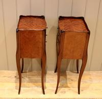 Pair of Mahogany Inlaid Bedside Cabinets (9 of 10)