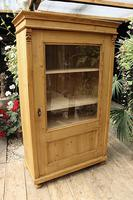 Fantastic Old Early 20th Century Pine/ Glazed Cupboard / Display Cabinet (2 of 9)