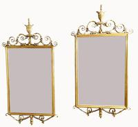 Lovely Pair of Adams Style Gilt Mirrors (2 of 7)