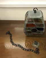 Arts & Crafts Glass Lantern (2 of 6)