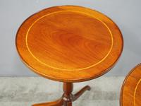 Pair of Sheraton Revival Occasional Tables (2 of 6)