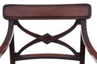 Georgian Quality Set of 8 Mahogany Dining Chairs c.1800 (4 of 12)
