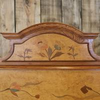 Art Nouveau Matching Pair of Twin Single French Beds (10 of 10)