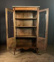 Elegant Napoleon lll Period Rosewood  & Tulipwood Bookcase / Vitrine (10 of 13)