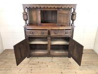Antique English Oak Cupboard (m-2183) (3 of 10)