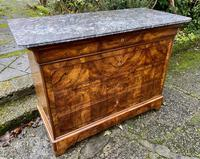 Burr walnut Louis Philippe commode (2 of 13)