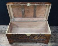 Oriental Carved Camphor Wood Chest c.1910 (12 of 12)