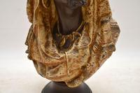 Antique Bronzed Spelter Bust of a Moorish Man (10 of 10)