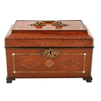 18th Century Chippendale Tea Caddy (3 of 8)