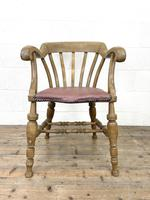 Early 20th Century Beech Smoker's Bow Chair (2 of 8)