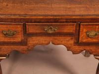 18th Century Oak Lowboy Very Original (4 of 8)