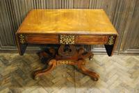 Regency Rosewood Sofa Table (6 of 9)