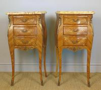 Good Pair Of French Inlaid Bedside Cabinets With Ormolu Mounts (2 of 7)