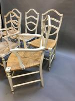 Set of 6 Sheraton Style Painted Chairs (5 of 7)