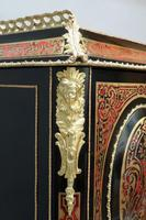 French 19th Century Louis XV Style Boulle Writing Cabinet (9 of 11)
