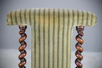 Victorian Walnut Prie Dieu Chair (4 of 11)