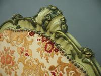 Pair of Italian Carved and Painted Armchairs (4 of 16)