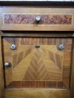 Pair of French Inlaid Mahogany Bedside Cupboards / Night Stands (13 of 14)
