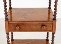 Rosewood Victorian Whatnot (3 of 9)