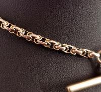 Antique 9ct Gold Watch Chain, Fancy Link, Albert Chain (3 of 9)