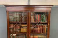 Good Edwardian Inlaid Mahogany Bookcase (10 of 16)