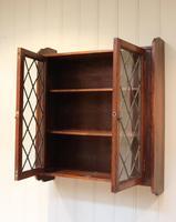 Oak Glazed Wall Cabinet (5 of 9)