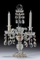 Pair of Late Regency Cut Glass Candelabra (5 of 6)