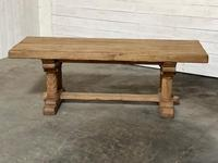Extremely Rare Large Oak Refectory Table (3 of 35)