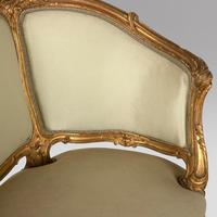 Corbeille Settee in Louis XV style c.1895 (3 of 4)