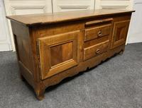 18th Century Low Cherry Wood Enfilade 'TV Stand' (16 of 21)