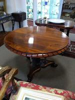 Victorian Rosewood Snap Top Table (2 of 9)