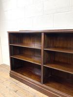 Late 20th Century Mahogany Bookcase (5 of 9)