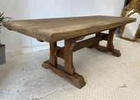 Large French Oak Farmhouse Refectory Dining Table (4 of 10)