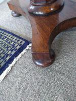Mahogany and Rosewood Side Table (3 of 3)