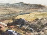 19th Century Scottish Highlands Watercolour Loch Kishorn By William Leighton Leitch (20 of 36)