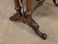 Large Victorian Burr Walnut Sutherland Table (10 of 16)