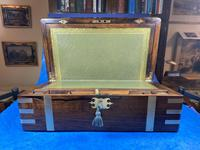 Victorian  Rosewood Writing Slope (12 of 20)