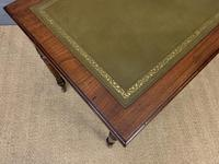 Victorian Walnut 2 Drawer Writing Table (13 of 15)
