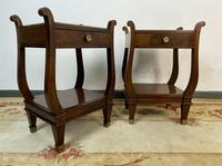 Vintage French Mahogany Bedside Tables (5 of 14)