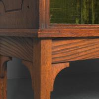 Oak & Painted Aesthetic Movement Bookcase (11 of 13)