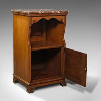 Antique Nightstand, English, Walnut, Bedside Cabinet, Gillow & Co, Victorian (2 of 12)