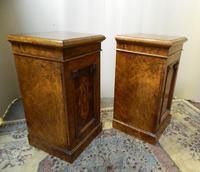 Pair of Walnut Bedside Cabinets (6 of 8)